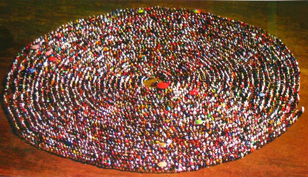Prima spirala MISA pe 2011, la Herculane. Yoghinii au comunicat cu Bivolaru