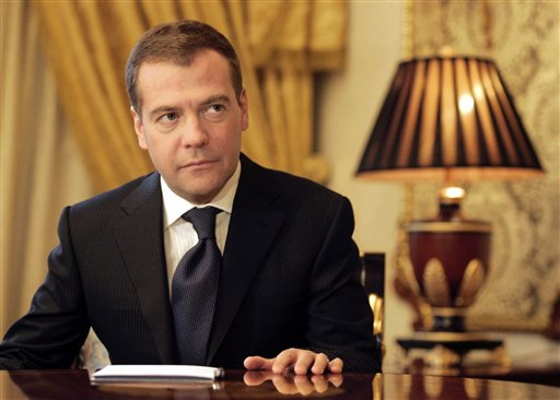 Presedintele Dmitri Medvedev a decretat luni zi de doliu in Rusia