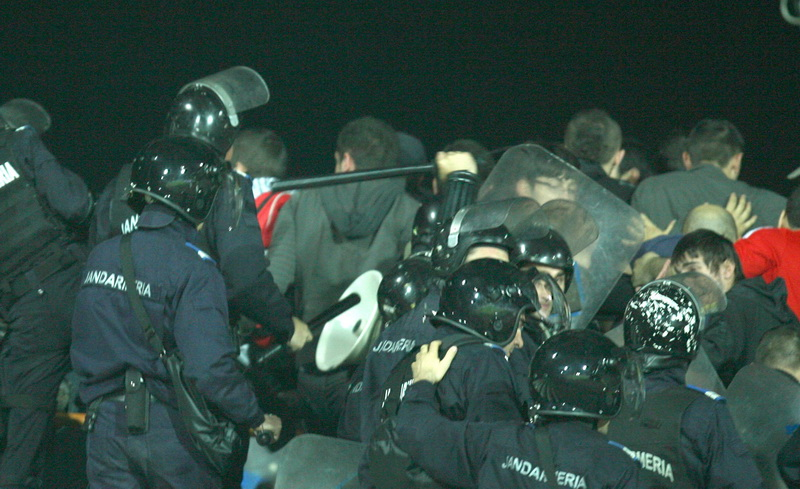 Incidente la Dinamo-Steaua. Fani