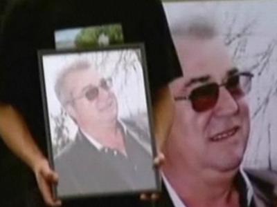 Milionarul George Naghi, inmormantat intr-un sicriu de 3.000 de euro si cu un ceas Rolex cu diamante