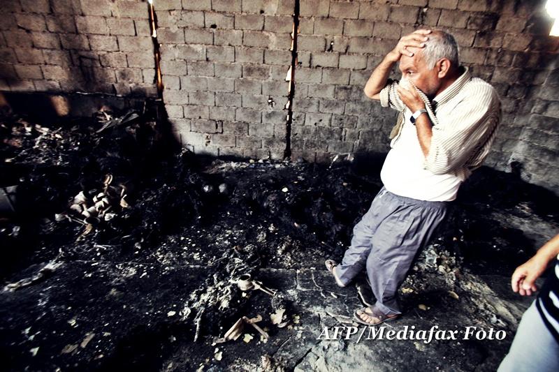 Auschwitz-ul lui Ghaddafi. Imagini socante din temnita in care erau carbonizati libienii. FOTO