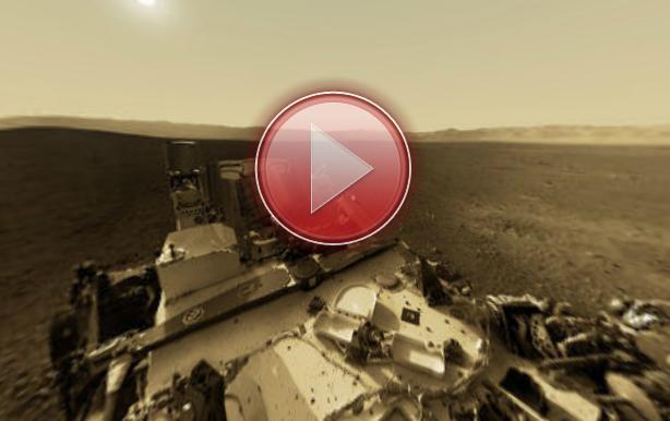 Imagini magice: ce vede pe Marte robotul Curiosity. Panorama 360