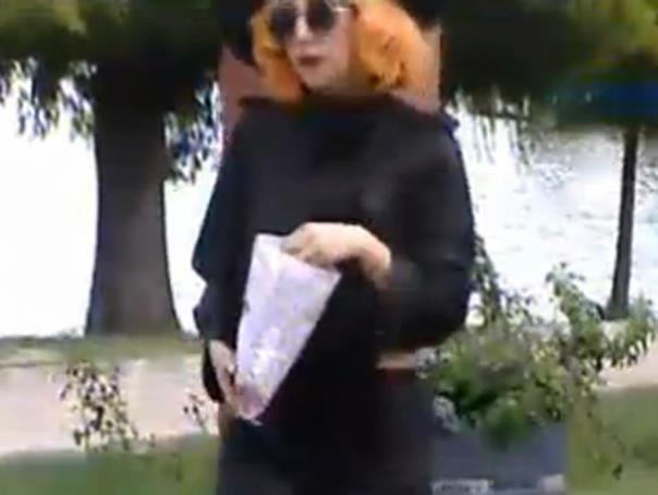 Lady Gaga a vizitat Parcul Herastrau din Bucuresti inainte de a parasi Romania