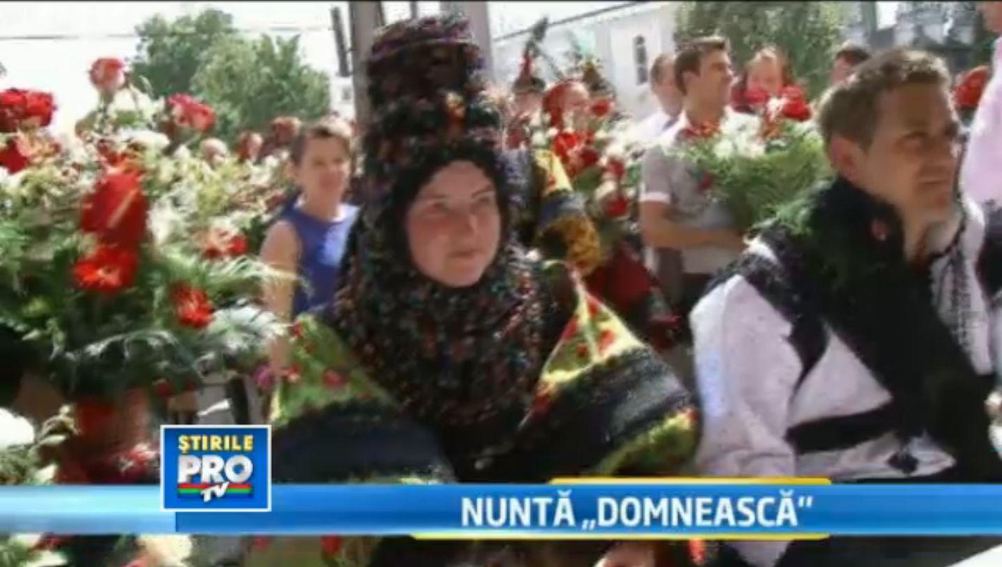 Nunta domneasca de 30.000 de euro. Cum se casatoresc tinerii din Certeze, dupa datini de sute de ani