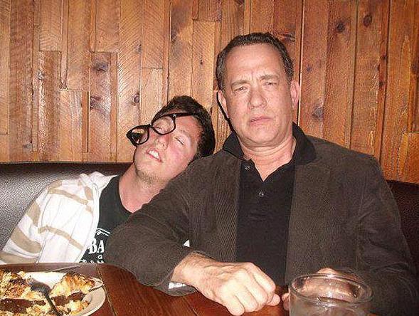 A intrat in restaurantul preferat si a avut parte de o surpriza. Ce a patit Tom Hanks. Foto
