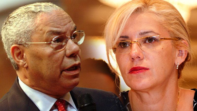 Corina Cretu, scandalul Colin Powell: