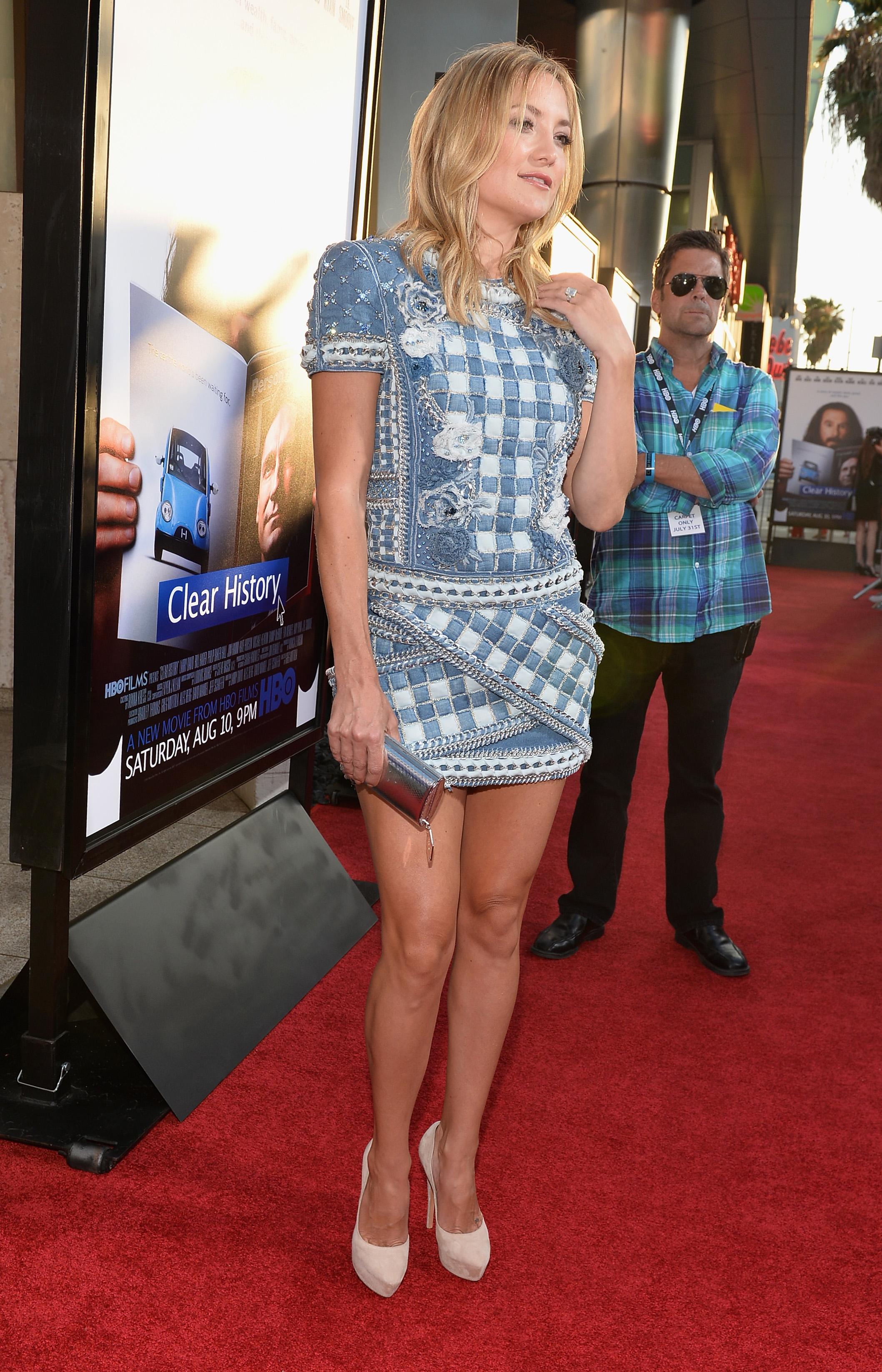 Kate Hudson a impresionat pe toata lumea la lansarea noului ei film -