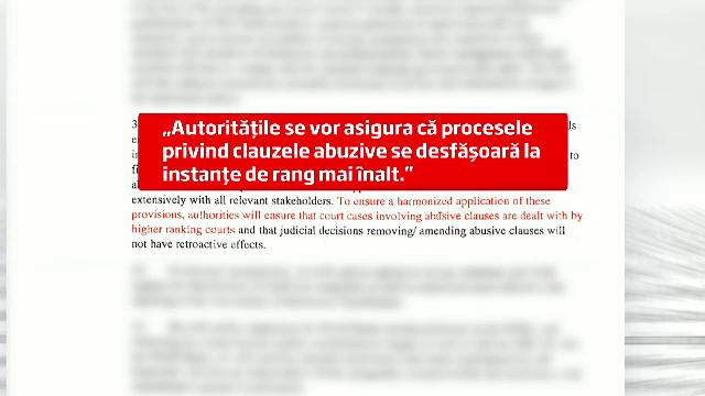 Surse: Denuntarea clauzelor abuzive din contracte, propusa spre amanare pentru 1 februarie 2014