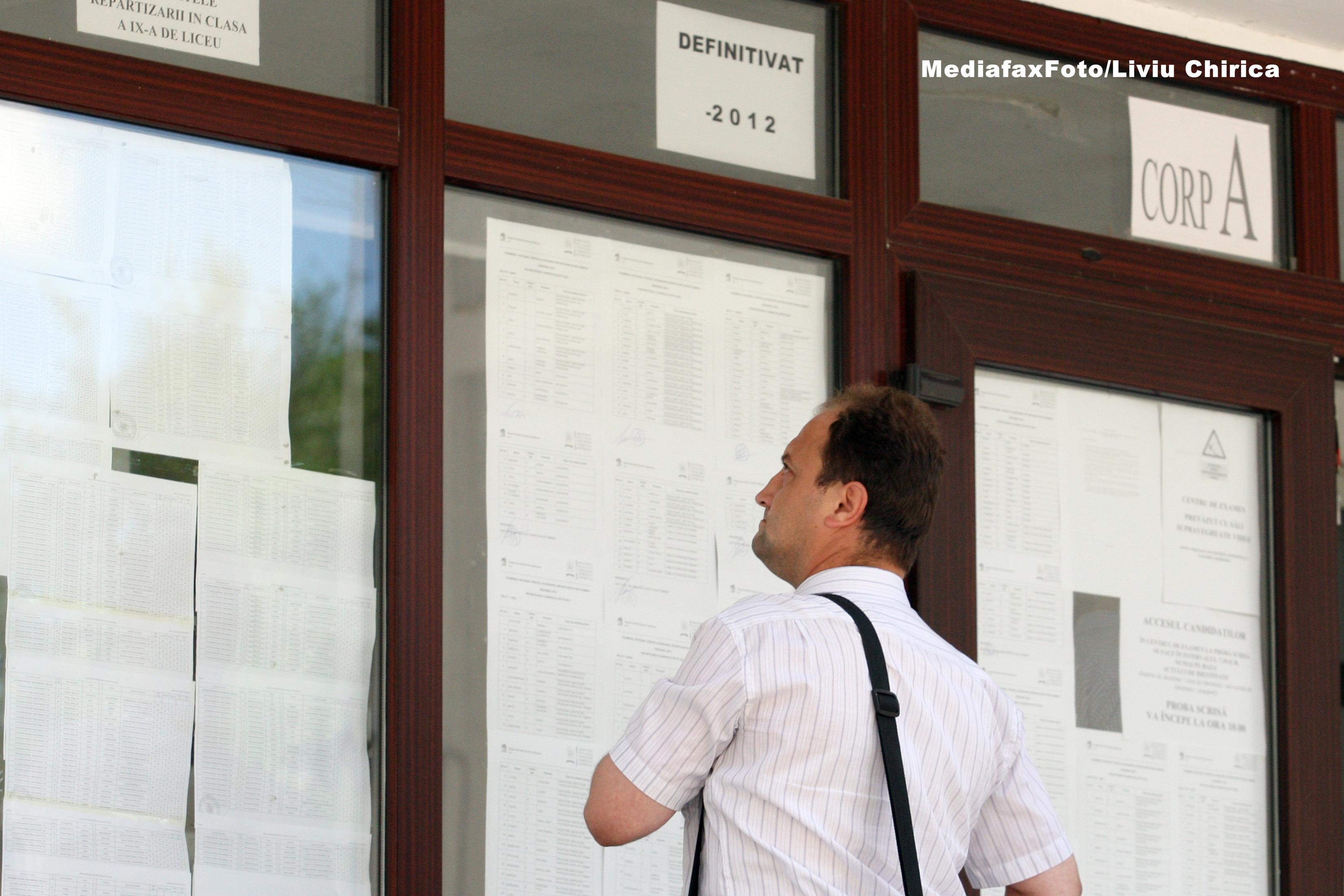 TITULARIZARE 2014. Aproximativ 32.000 de profesori au sustinut examentul de titularizare in invatamant