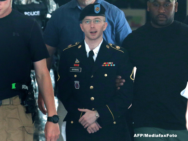 Pedeapsa maxima pe care o risca Bradley Manning,