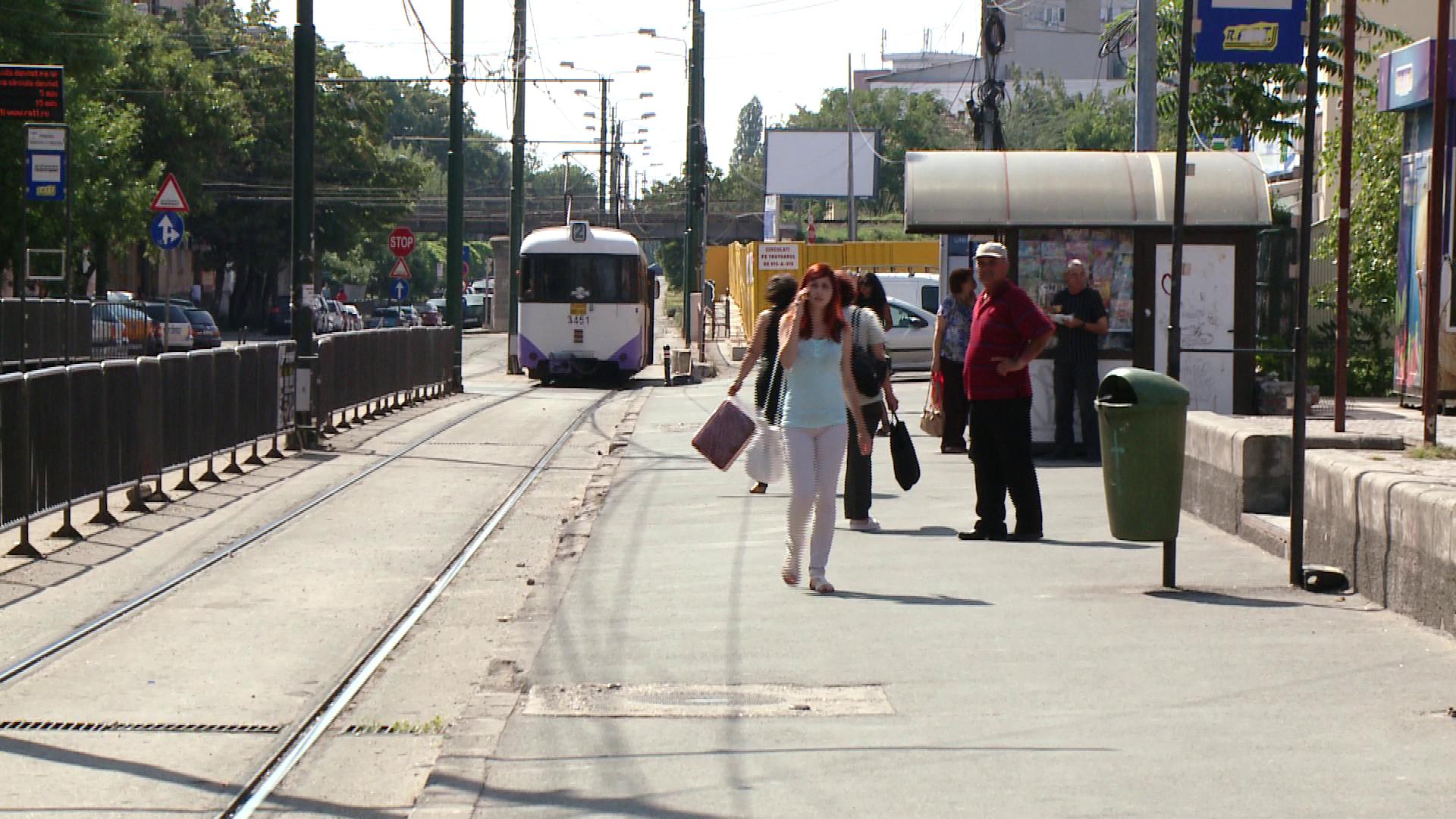 RATT anunta intarzieri ale tramvaielor.Incepe reabilitarea unei intersectii din Calea Stan Vidrighin