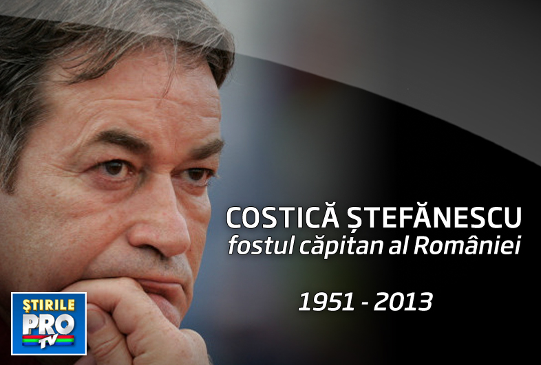 Corpul lui Costica Stefanescu, depus pe stadionul Oblemenco. Parchetul Militar a preluat ancheta