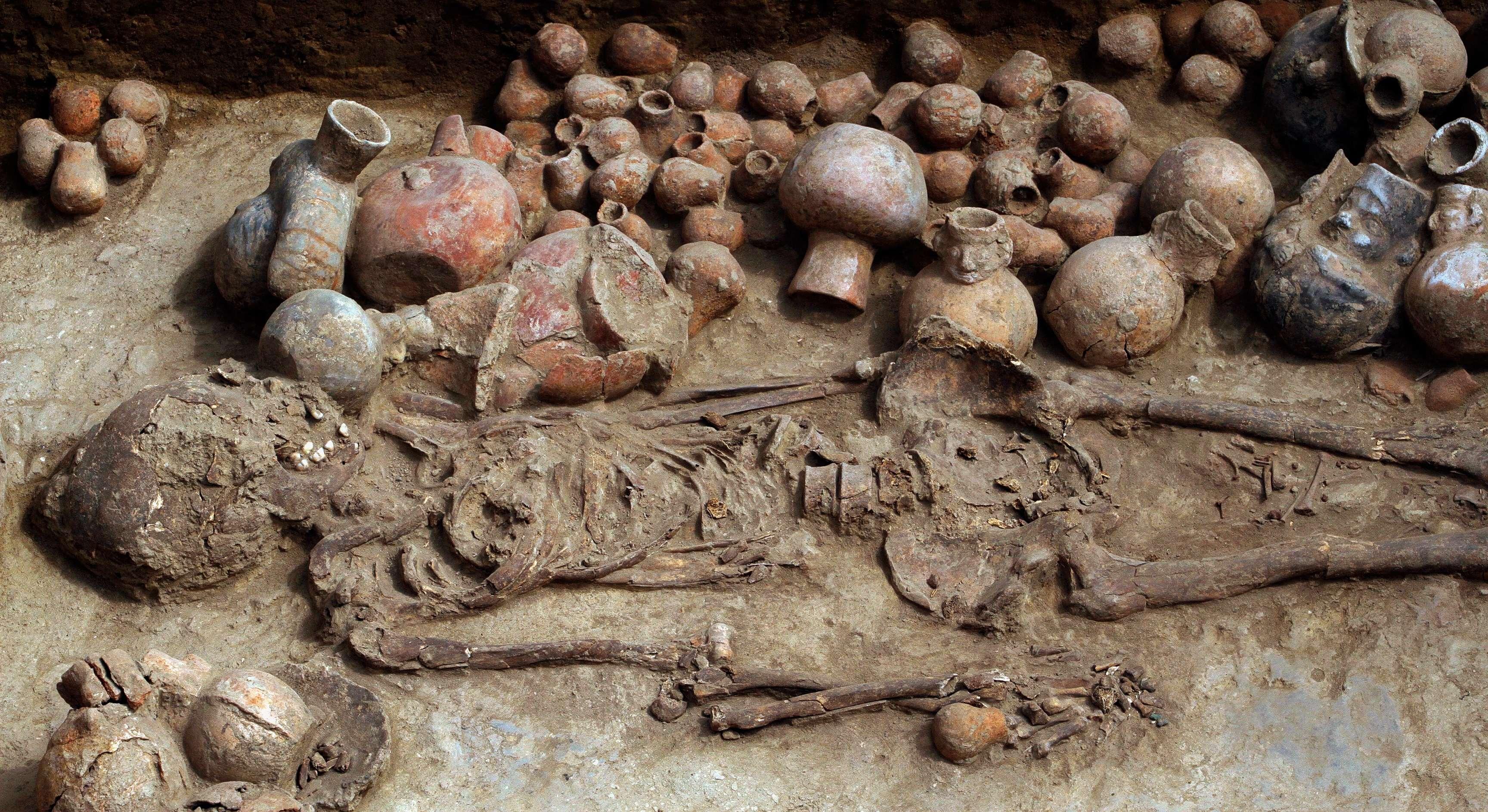 Un schelet de 1700 de ani arata ca in trecut femeile conduceau Peru-ul