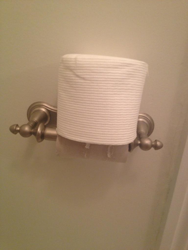 O rola de hartie igienica e