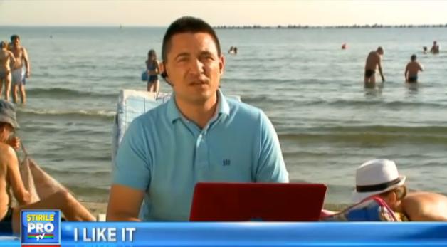 Experiment inedit la iLikeIT. George Buhnici a campat pe plaja din Vadu si a testat viata la cort cu gadget-uri