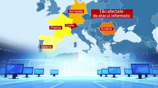 Atac informatic fara precedent in Romania. Expertii au gasit cuvinte rusesti in coduri si vorbesc de