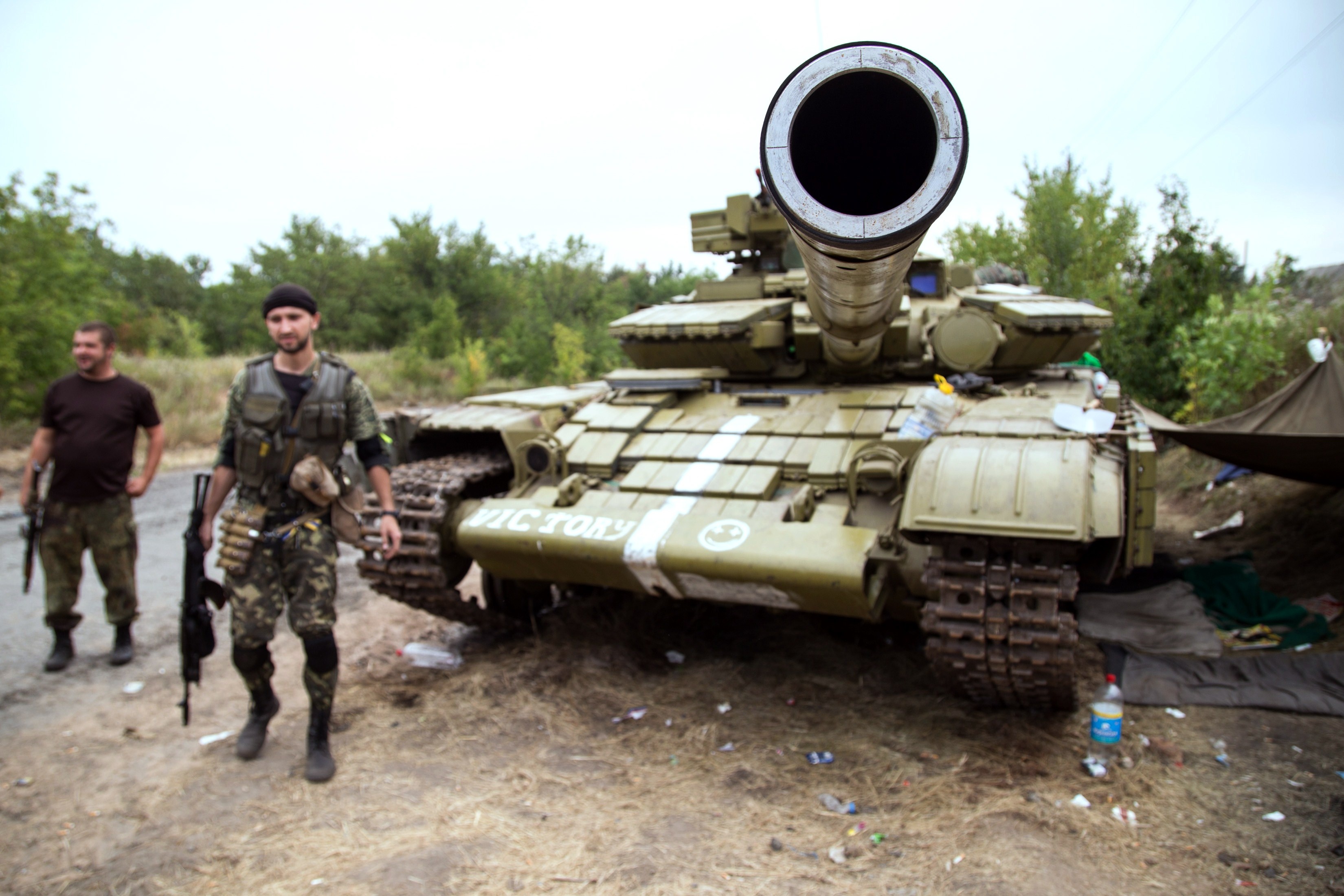 Criza in Ucraina. Batalie pentru aeroportul din Donetk. 6 civili, ucisi in confruntarile dintre armata ucraineana si rebeli
