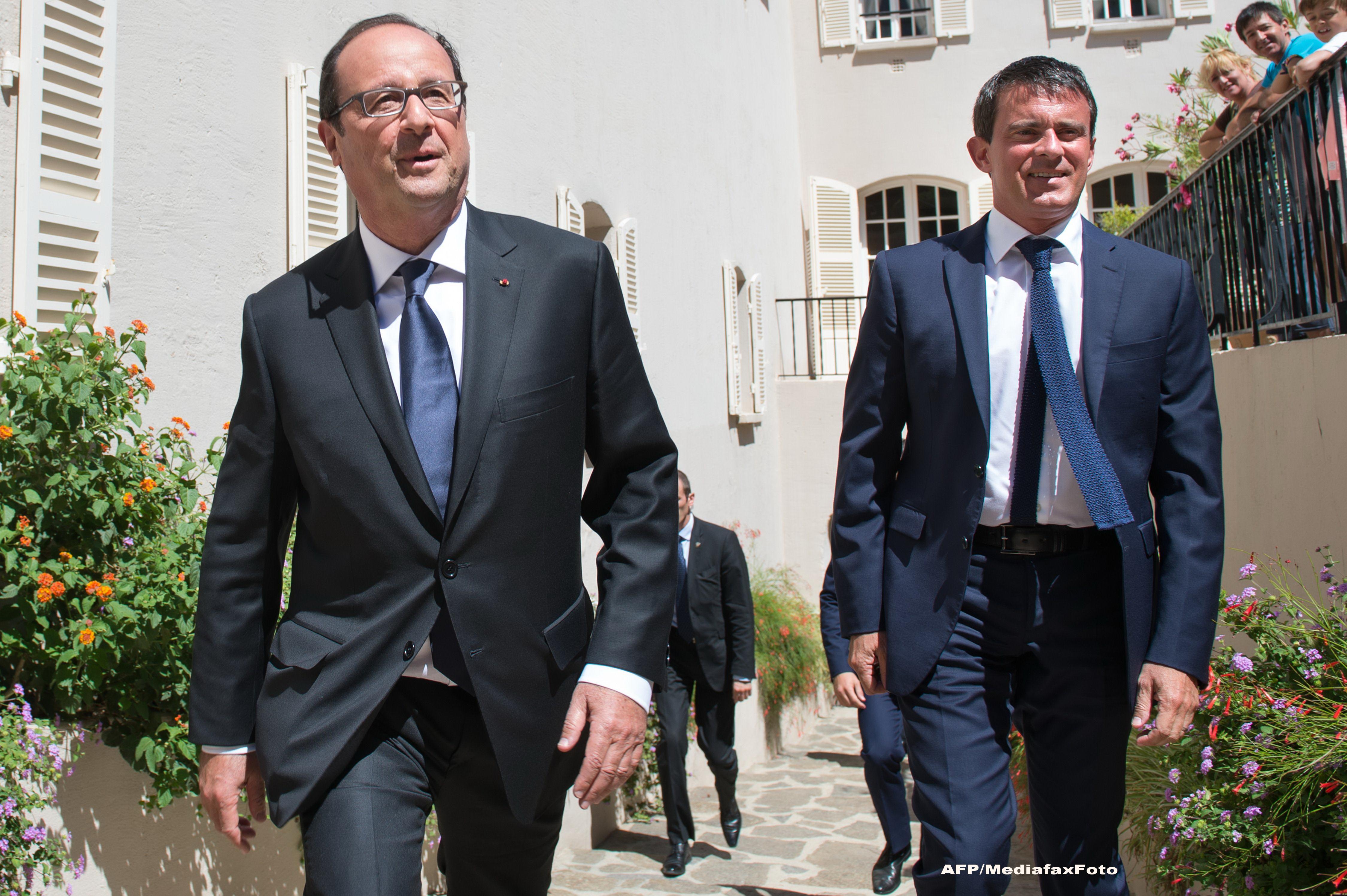 Guvernul Frantei, condus de Manuel Valls, a demisionat. Noul cabinet va fi prezentat marti