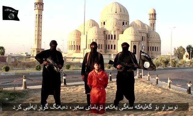 O grupare terorista afiliata la Statul Islamic a rapit un francez: