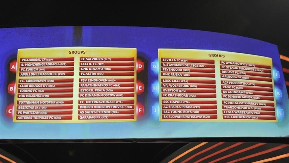 Grupele Europa League. Steaua va juca cu Dinamo Kiev. Cine sunt adversarii Stelei si ai Astrei Giurgiu