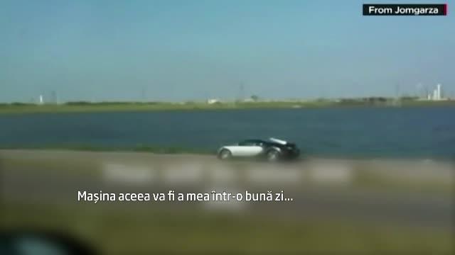 Filma un Bugatti de 1 milion de dolari: