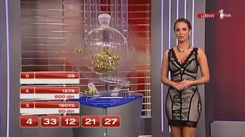 Gafa comisa in direct de loteria din Serbia. Numarul castigator a aparut pe ecran inainte de a fi extras. VIDEO