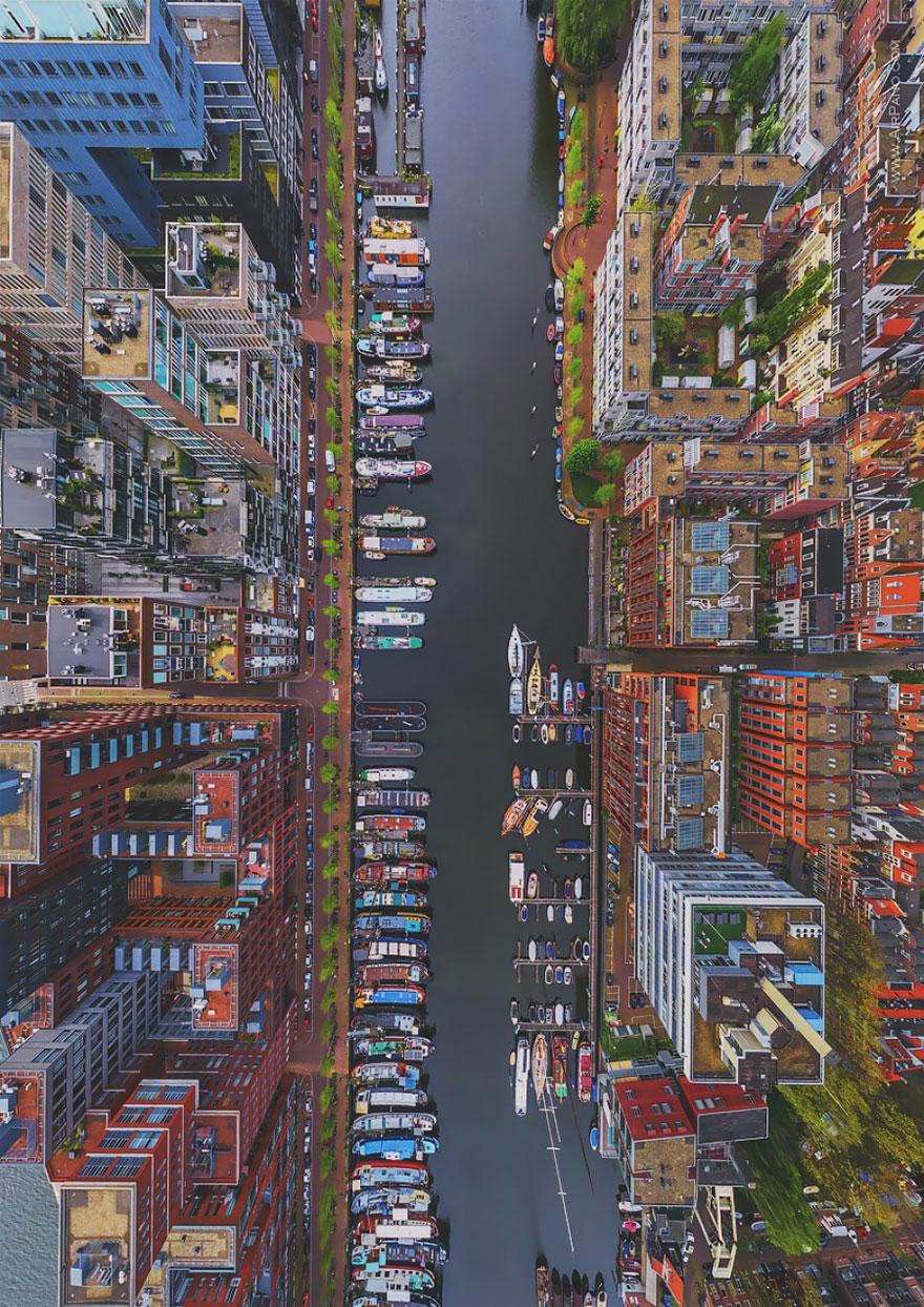Calatoresc pe tot globul si fotografiaza lumea de sus. Imaginile surprinse de o echipa de fotografi rusi iti taie respiratia