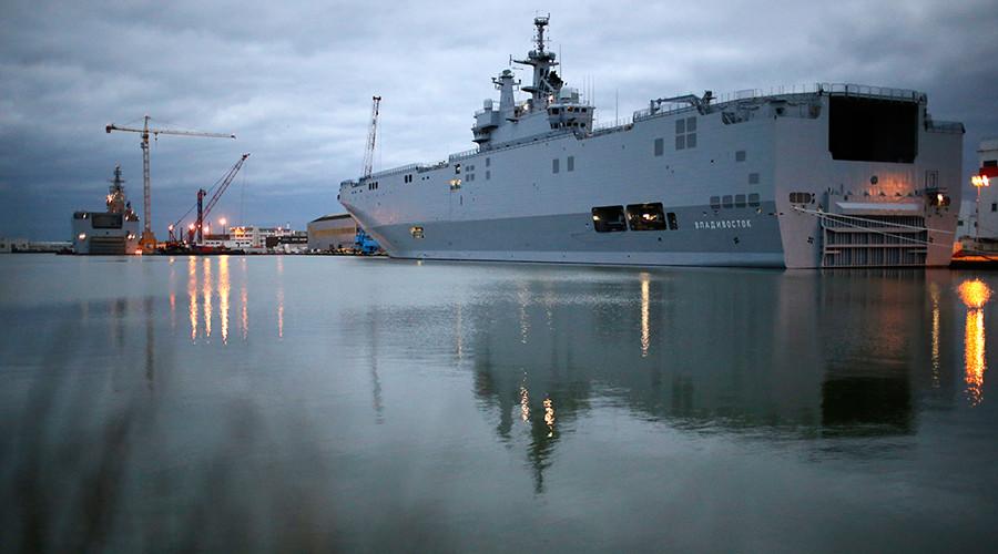 Franta a anuntat oficial un acord legat de navele Mistral: