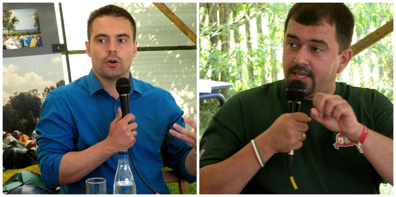 Liderii partidului extremist Jobbik, in tabara Tineretului Maghiar Ardelean: