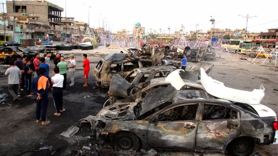 Gruparea Statul Islamic a revendicat atentatul cu masina capcana din Irak in urma caruia au murit cel putin 76 de persoane