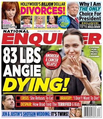 Zvonul care a starnit panica in randul fanilor Angelinei Jolie, o inventie a unei publicatii. Adevarul din starea actritei