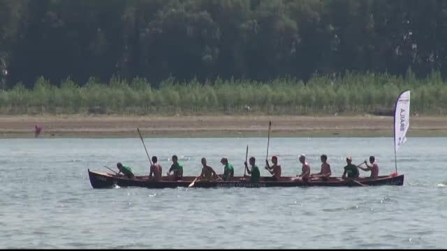Ziua Marinei a fost sarbatorita si pe Dunare. Multiplul campion olimpic Ivan Patzaichin a organizat un concurs de canotci