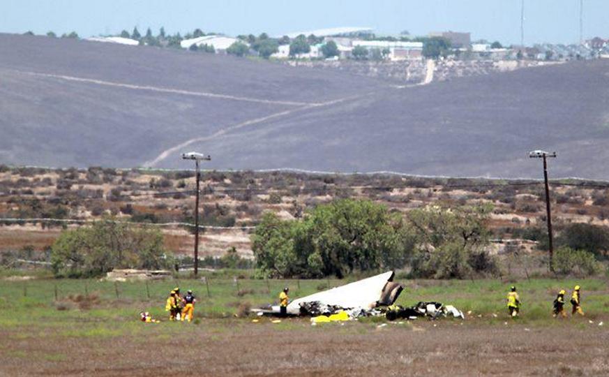 Patru morti in urma coliziunii a doua avioane de mici dimensiuni: