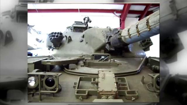 Un american scoate la vanzare un tanc. Cum arata masinaria de lupta de un sfert de milion de dolari