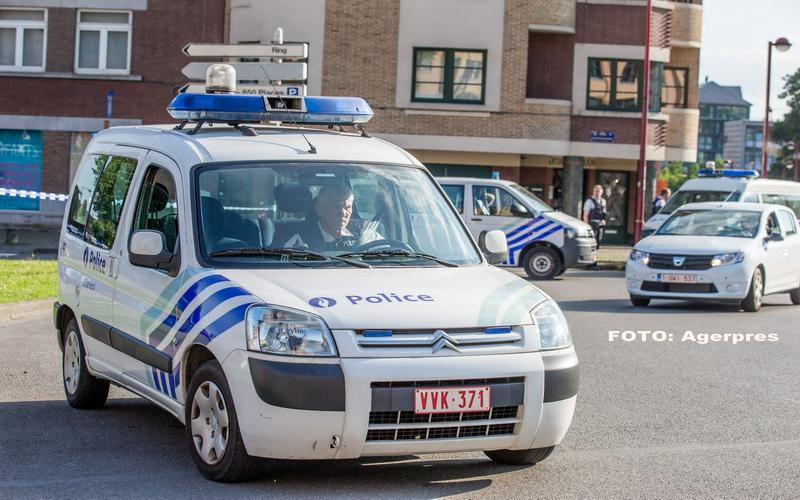 Doua politiste belgiene, atacate cu maceta de un barbat care a strigat