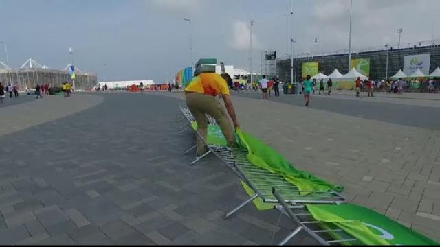 Radiografia celei de-a doua zile la Rio 2016. Tenismen blocat 40 de minute in lift si competitii anulate din cauza vantului