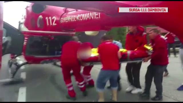 Operatiune de salvare dificila la Cota 1000. Biciclist ranit, recuperat dupa trei ore si dus cu elicopterul SMURD la spital
