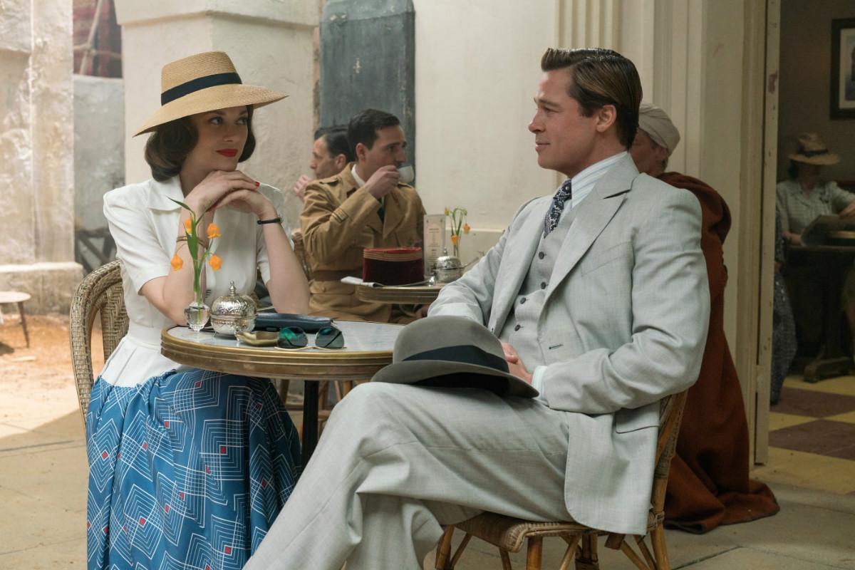 """Brad Pitt si Marion Cotillard formeaza un cuplu in """"Allied"""", cel mai nou film al lui Robert Zemeckis"""