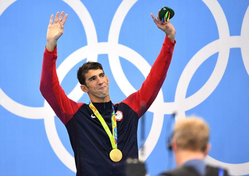 Michael Phelps a castigat finala probei de 200 metri mixt de la Rio si a obtinut a 22-a medalie olimpica de aur