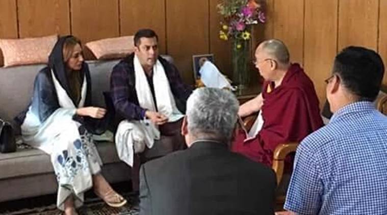 Salman Khan si Iulia Vantur s-au intalnit cu Dalai Lama. Ce scrie presa indiana despre relatia celor doi