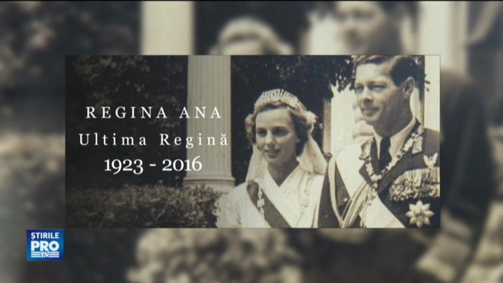 Parastas de 2 ani pentru Regina Ana, la Săvârşin