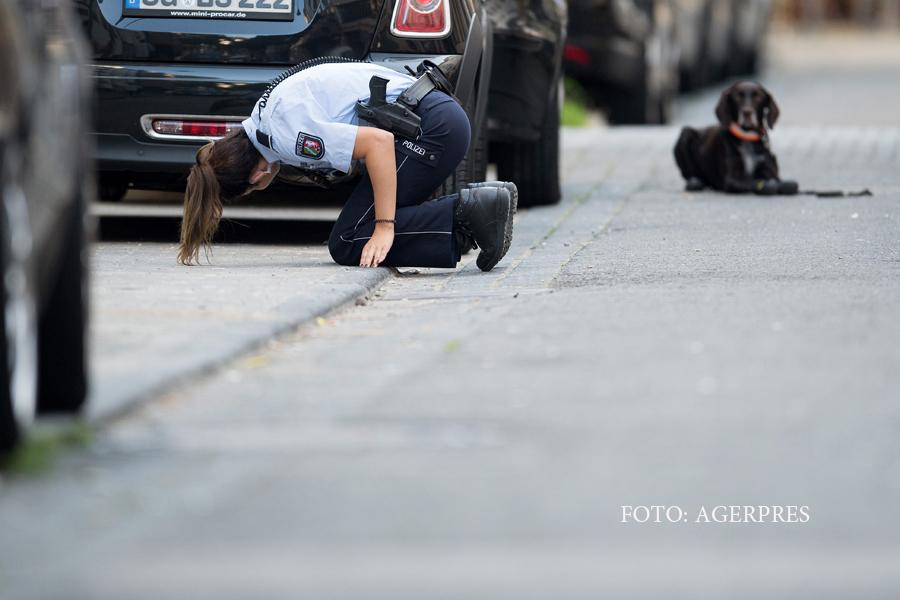 Atac armat in centrul orasului Koln. Un barbat a scapat dupa ce a fost injunghiat si s-a tras in urma sa