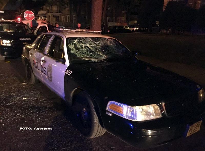 A doua noapte de violente in Milwaukee. O persoana a fost impuscata, iar un politist a fost ranit. VIDEO si FOTO