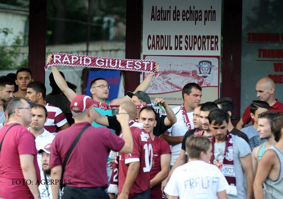 Noua amanare in procesul Rapid, dupa ce echipa a ajuns in Liga 5. O fosta vedeta a echipei cere in instanta 65.000 de euro