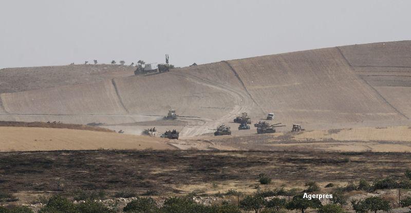 35 de civili morti si 70 raniti, dupa bombardamentele Turciei in Siria. Ankara anunta insa ca a ucis 25 de