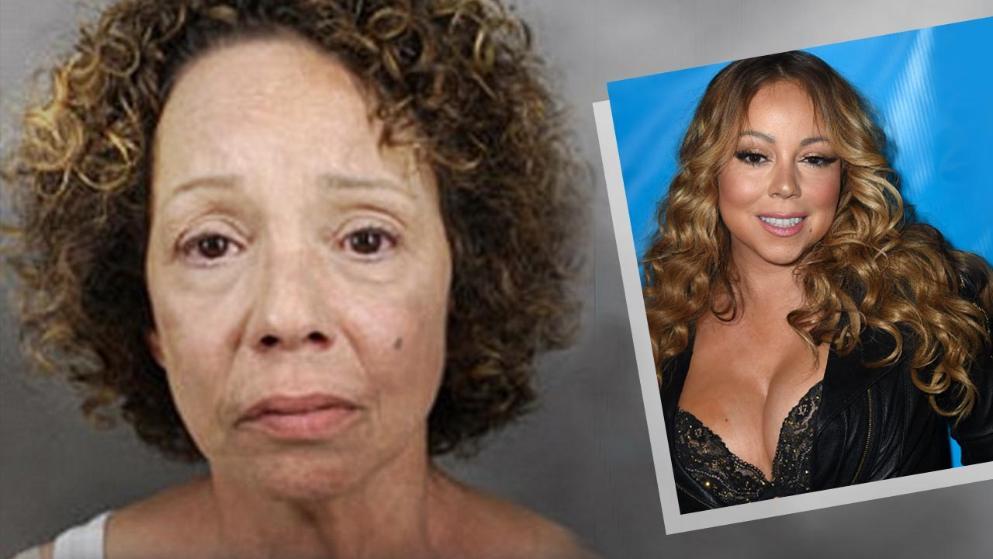 Sora mai mare a cantaretei Mariah Carey a fost arestata pentru prostitutie. Mesajul trimis pe Facebook vedetei
