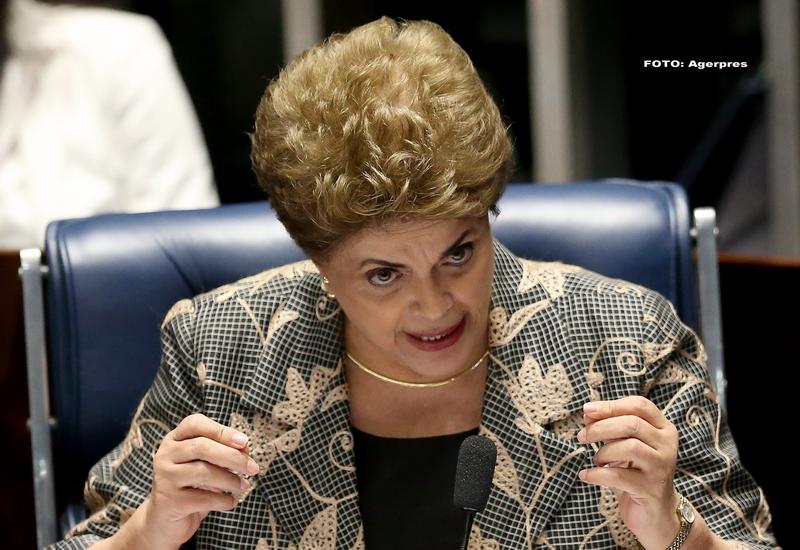 Presedinta Braziliei sustine ca este victima unei