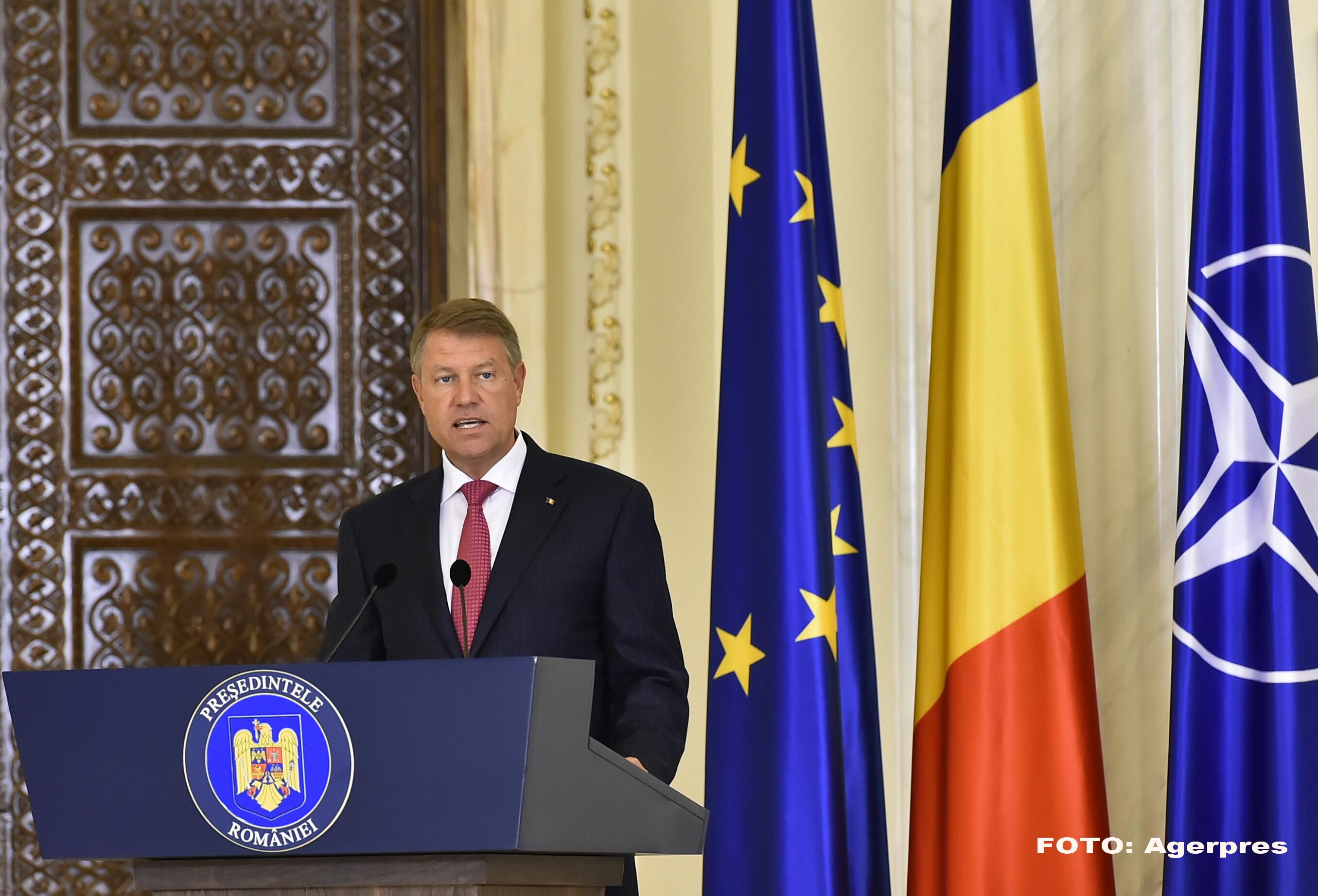 Presedintele Klaus Iohannis a trimis ministrului Justitiei cererea de urmarire penala a lui Petre Toba