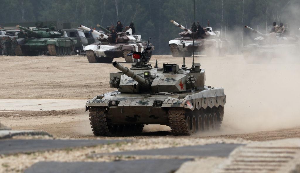 Exercițiu militar pe Nistru: tancurile rusești au primit ordin să intre în R. Moldova