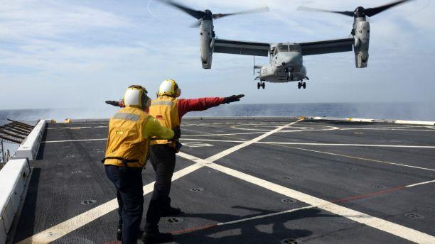 Un avion militar american s-a prăbușit în Oceanul Pacific. Trei militari sunt dați dispăruți